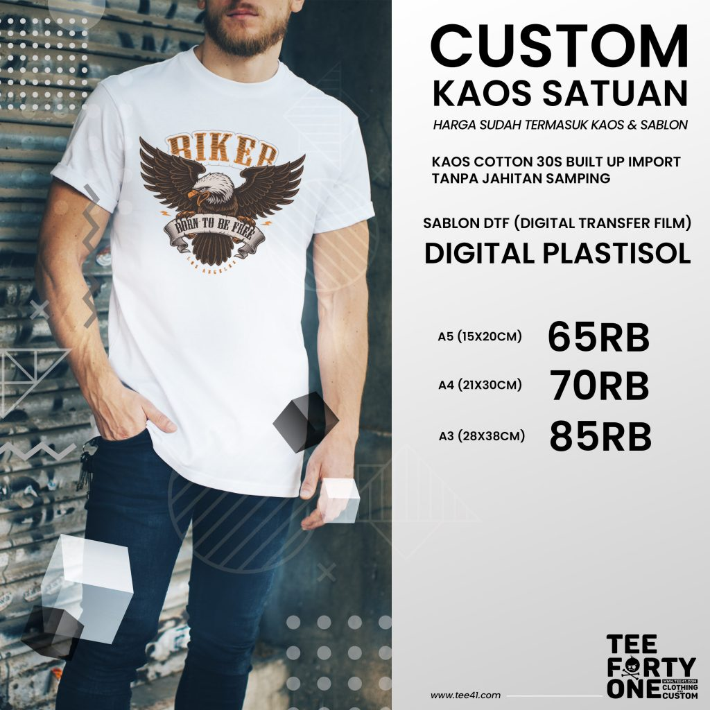 Sablon DTF Digital Plastisol by Tee41